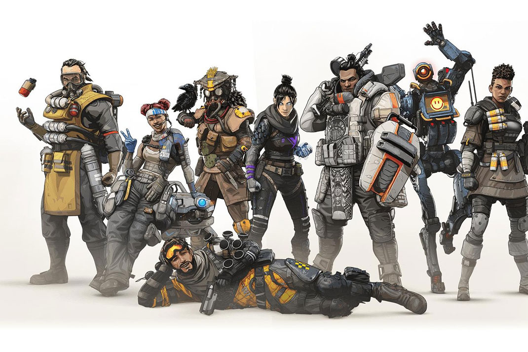 Apex Legends Character art